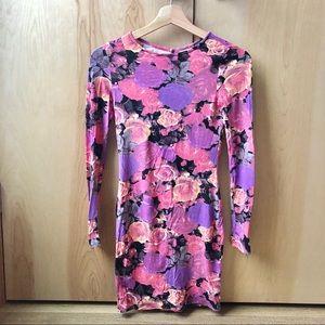 ASOA floral dress size 0